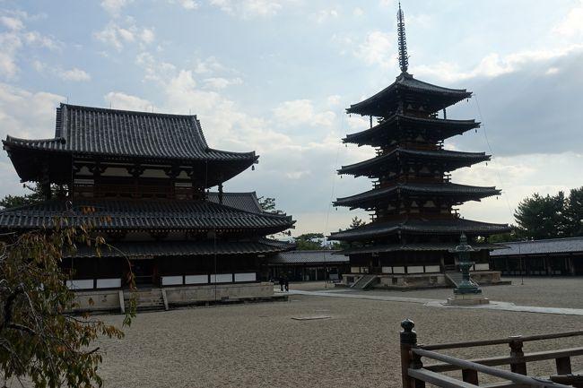 4日目の最後は、法隆寺、法起寺、法輪寺と訪れました。