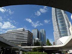 週末東京都心宿泊。東京メトロ24時間券で。