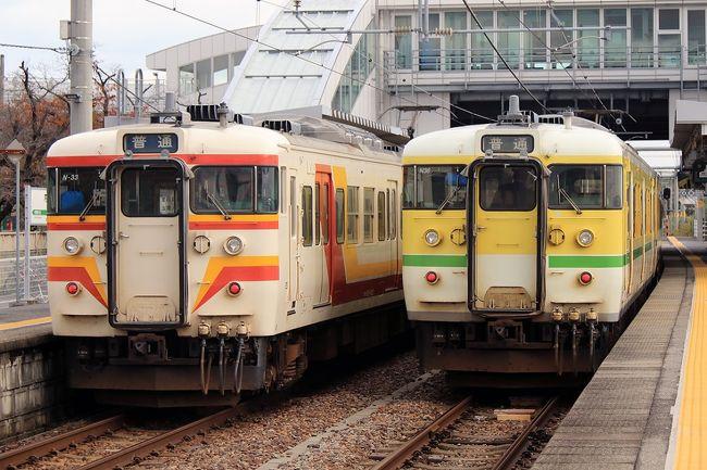 GoToトラベル お値打ち商品その2と言う事で、先月の浜松に続いて新潟へ行ってきました。<br /><br />今月車で新潟まで出かけた際に越後線を走る115系を撮影しましたが、まだ越後線と弥彦線に乗っておらず115系もいつまで走るが判らないので早めに乗っておこうと言うことで調べたら、JR東日本「びゅー」トラベルの「列車で行く日帰り旅行/新潟すし三昧「極み」」と言う旅行商品がありました。<br />1名利用の場合はGoToトラベル適用で13,800円となり、往復新幹線にお寿司(3500円相当)まで付いてこのお値段です。<br /><br />地域クーポンは3000円が提供されますので実質10,800円です。<br />この価格は東京新潟間の新幹線半額相当ですから、JR東のえきねっと「お先にトクだね」の5割引きを買うよりお得だと思います。<br />この商品は最短で出発2日前の23:40まで購入が可能ですから利用価値は高いと思います。<br /><br />https://view.eki-net.com/pc/personal/reserve/wb/rmreserve/3102_RMPackageDetailSub.aspx?SCREEN_ID=SPPR3003&amp;PKGCD_CD=R2700426331&amp;DPT_DAY=20210131&amp;ADLT_NUMERAL=1&amp;CHILD_NUMERAL=0&amp;targetPage=sppr3102<br /><br />そんな商品を使って新潟まで行って、越後線と弥彦線を乗り鉄してきました。<br />