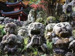 2020秋の京都1泊2日★5 渡月橋から愛宕寺へ
