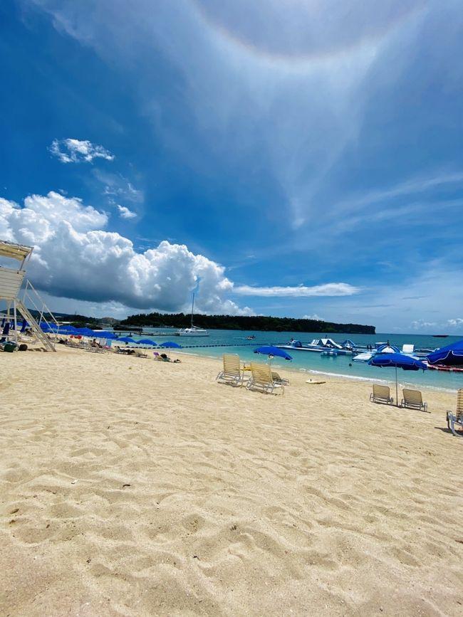 コロナの緊急事態宣言が一旦7月1日に解除され関東は長雨とテンションが下がる日々、暖かい綺麗な海に行きたい‼思い立ったら弾丸で1泊沖縄にダイビングにリゾートステイとても癒された2日間でした