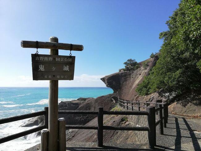 """弾丸海外の旅とか、マニアックな国内の旅を好む私ですが、<br />たまには「ベタ」(関西芸人がいうところの定番中の定番の意)<br />な観光地を訪れることがあります。<br />今回は、三重県&和歌山県の「鶏焼肉&鬼ヶ城&熊野那智大社&那智滝&紀伊勝浦」をご紹介します。<br /><br />★「ベタ」な観光地シリーズ<br /><br />ニセコ(北海道)<br />http://4travel.jp/travelogue/10557930<br />美瑛&青い池(北海道)<br />https://4travel.jp/travelogue/10417987<br />幸福駅&ばんえい競馬(北海道)<br />http://4travel.jp/travelogue/10417731<br />高山稲荷神社&鶴の舞橋(青森)<br />https://4travel.jp/travelogue/11404300<br />下北半島(青森)<br />http://4travel.jp/traveler/satorumo/album/10437472/<br />岩木山&こみせ(青森)<br />http://4travel.jp/travelogue/10557256<br />田んぼアート(青森)<br />http://4travel.jp/travelogue/10993533<br />弘前&十二湖(青森)<br />http://4travel.jp/traveler/satorumo/album/10490992/<br />平泉&伊豆沼・内沼の白鳥&松島(岩手&宮城)<br />https://4travel.jp/travelogue/11499615<br />多賀城(宮城)<br />http://4travel.jp/traveler/satorumo/album/10688179/<br />仙台光のページェント(宮城)<br />http://4travel.jp/travelogue/11207650<br />宮城蔵王キツネ村(宮城)<br />https://4travel.jp/travelogue/11345894<br />妙乃湯温泉&十和田プリンスホテルに泊まる角館&田沢湖&乳頭温泉<br />&十和田湖(秋田)<br />https://4travel.jp/travelogue/11600220<br />秋田竿灯まつり(秋田)<br />http://4travel.jp/travelogue/10941648<br />上山温泉""""古窯""""&蔵王お釜(山形)<br />https://4travel.jp/travelogue/11618311<br />山寺(山形)<br />http://4travel.jp/traveler/satorumo/album/10785796<br />蔵王&天元台(山形)<br />http://4travel.jp/travelogue/10571930<br />蔵王樹氷(山形)<br />http://4travel.jp/traveler/satorumo/album/10450750/<br />天童の人間将棋(山形)<br />http://4travel.jp/traveler/satorumo/album/10768677<br />海鮮食べ放題バスツアー (山形)<br />http://4travel.jp/travelogue/11048424<br />月山&山形花笠まつり&仙台七夕(山形・宮城)<br />http://4travel.jp/traveler/satorumo/album/10557069/<br />""""るーぷる仙台""""で市内観光&牛タン&仙台大観音(宮城)<br />https://4travel.jp/travelogue/11642389<br />カシマサッカースタジアム&真壁(茨城)<br />http://4travel.jp/travelogue/10556710<br />日光東照宮(栃木)<br />http://4travel.jp/traveler/satorumo/album/10428289/<br />奥日光(栃木)<br />http://4travel.jp/traveler/satorumo/album/10420786/<br />浅間山・伊香保・赤城(群馬)<br />http://4travel.jp/traveler/satorumo/album/10422735/<br />休園中の東京ディズニーリゾート(千葉)<br />https://4travel.j"""