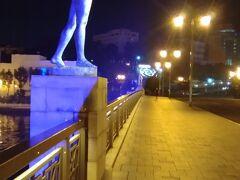 釧路 夜の幣舞橋(ぬさまいばし)
