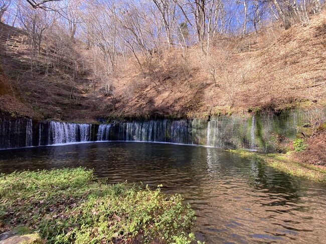 GoToで紅葉の終わりかけた軽井沢へ