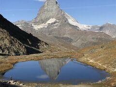 絶景が広がるアルプスの山歩きと鉄道の旅:スイス、リヒテンシュタイン旅行【29】(2019年秋 6日目② 絶景!マッターホルン)