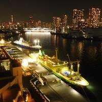 東海汽船「さるびあ丸」横浜(大桟橋)→東京(竹芝桟橋)乗船と「インターコンチネンタルホテル東京ベイ」