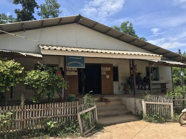 2018年のGW、一般観光客に開放されて時間もそう経っていないミャンマー南部観光と、<br />ここ数年で新たに開いたミャンマー‐タイの陸路国境越えを果たすべく、以下ルートを巡りました。<br />チケットの手配が直前になったため、直行便ではなく、韓国‐タイ経由となりました。<br />今となっては、この手の旅行も難しくなり、懐かしい気持ちです。<br />自身のための忘備録です。<br /><br />2018年<br />4月28日(土)<br />日本/成田‐韓国/プサン‐タイ/バンコク(スワンナプーム)<br /><br />4月29日(日)<br />タイ/バンコク(ドンムアン)‐ミャンマー/ヤンゴン<br /><br />4月30日(月)<br />ヤンゴン‐チャイティーヨー/チャイットー‐モーラミャイン<br /><br />5月1日(火)<br /><br />モーラミャイン‐ウィンセントーヤ観光‐ダウェイ<br /><br />5月2日(水)<br />ダウェイ観光<br /><br />5月3日(木)<br />※⑥はこの日の朝から<br />ダウェイ‐ティーキー(HteeKhee、陸路国境越え)‐タイ/プーナムロン‐カンチャナブリ-バンコク <br /><br />5月4日(金)-5日(土)<br />バンコク観光<br /><br />5月6日(日)<br />タイ/バンコク(スワンナプーム)‐韓国/プサン‐日本/成田<br /><br />そして、<br />なぜか第1日目~3日目(4/28-30)の写真が消失してしまったので、②第4日目(5/1)からのスタートとなります。<br />①第1日目~3日目(4/28-30)が発見されたら追記したい・・・<br />