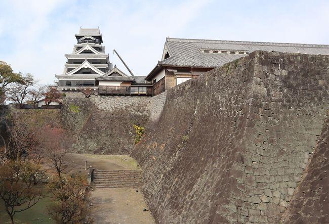 日本三名城のひとつ熊本城は、加藤清正(かとうきよまさ)により慶長6年(1601)から7年の歳月をかけ築城されています。その構えは豪壮雄大で、城域面積は98万平方キロメートル、周囲5.3Kmにも及びます。当時は大小天守閣はじめ、櫓49、櫓門18、その他の城門29を数え、実戦を想定した巨大城塞でした。<br /><br />平成28年(2016)の熊本地震では2度の震度7を観測し、大きな被害を受けました。熊本地震から4年半、最優先で工事が進められている天守閣は、2021年春にも内部が一般公開される見通です。ただ、城内には崩れた石垣や倒壊した櫓(やぐら)が多数残っています。完全復旧を目指す熊本城を訪ねました。