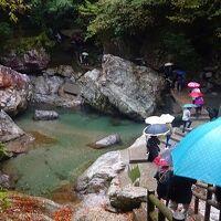 四万十川遊覧と、新足摺海洋館(SATOUMI)の見学等 翌日10。中津渓谷・雨竜の滝の見学から帰阪 上巻。