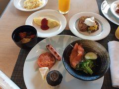 その2.沖縄9泊10日:クラブラウンジ食事 ANAインターコンチネンタルビーチリゾート万座
