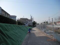 工事その12東海市南側の大堀緑道