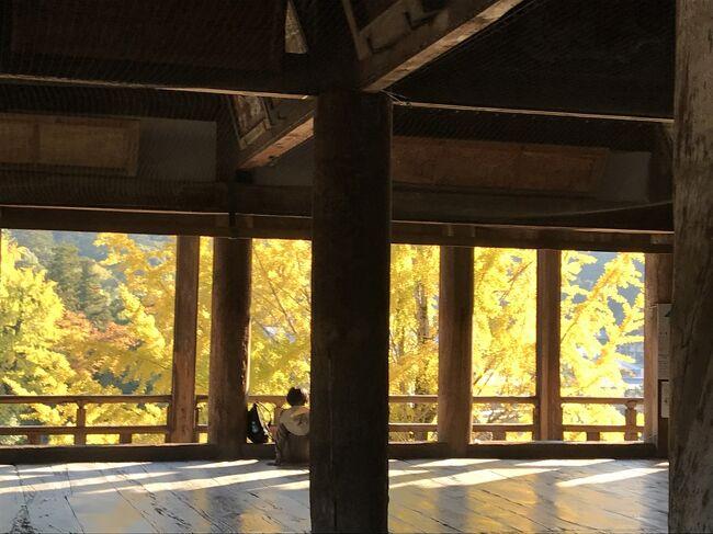 満を持して……前から行きたかった広島と宮島へ行ってきました。<br /> 土日ではなく、またしてもちょっとずらし旅。11月13日金曜日に年休をとっての旅行です。土日だと絶対混むだろうと思ったのと、ホテルが若干がとりやすかったので。<br /> 秋には宮島へ行かなきゃと思っていたんです。「安芸の宮島」を 宮島というところは秋は素晴らしいところだから「秋の宮島」と言われているんだろう と。そう、ものすごい勘違いしていたことに気が付いたのは、ホテルの予約をした頃です。(#^^#)きやぁ~~~恥ずかしい。<br />日程<br />1日目:羽田空港→広島空港 リムジンバスで広島駅へ。<br />    JR広島駅→宮島口→宮島 厳島神社・豊国神社<br />    宮島→宮島口→JR広島駅バスで紙屋町 リーガロイヤルホテル広島チェックイン<br />    平和記念資料館 長田屋<br />2日目:新幹線で三原へ。三原観光タクシーにて佛通寺・御調八幡宮。<br />    みっちゃんで昼食 三原散策<br />    三原→広島空港 広島空港→羽田空港<br />ホテルは一休ドットコムよりGO TO利用です。<br />