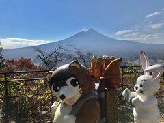 河口湖の旅①(富士山パノラマロープウェイ・音楽と森の美術館・もみじ回廊)