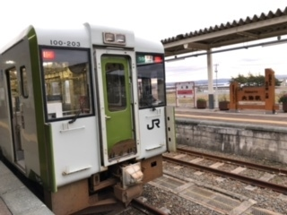2020年11月三連休東日本・函館パスの旅5(八戸線・青い森鉄道・大湊線)