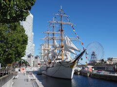Go To Eat:満船飾と8枚の帆で彩られた日本丸を眺め、ホテルニューグランド結婚10周年ランチへ