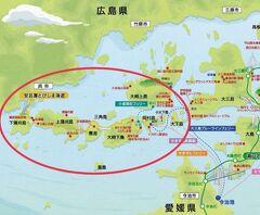 有休要らず!3連休でとびしま海道の島めぐり(1)全行程概要&とびしまの前に呉や江田島