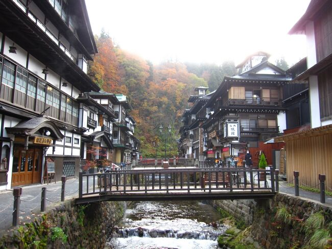 11月7日<br />銀山温泉から山寺(立石寺)、それから福島の甲子温泉という日程。<br />前日の天気予報では山形はほぼ雨、山寺付近も昼頃から雨…という予報でしたが、雨降らずでした。<br /><br />この日の宿は甲子温泉 旅館大黒屋 37400が24310円、キャッシュバックがあるので18310円。クーポンは6000円貰えて12310円。<br /><br />走行距離約270㎞。<br />