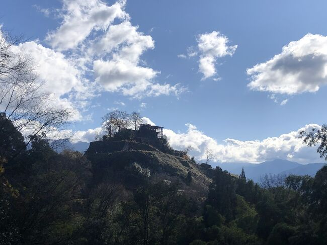 苗木城跡と鰻重と中津川宿散策