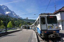 南ドイツ・北イタリア鉄道の旅(その2 登山電車で行くドイツ最高峰ツークシュピツェとミッテンヴァルト)
