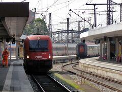 南ドイツ・北イタリア鉄道の旅(その3 ミュンヘンのレジデンツ、交通博物館見学後、国際列車でイタリアへ)