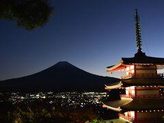 一人富士山ドライブ  初日 忍野八海・富士浅間神社巡り・身延山久遠寺参拝