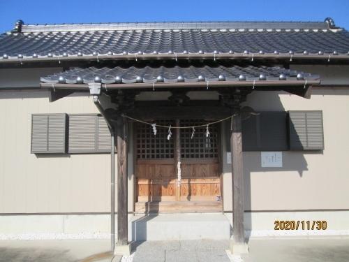 流山市の木・豊受神社・流山100か所めぐり(92)・石仏