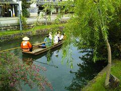 人力車に乗って倉敷美観地区を30分楽しみました。(2020年10月3日)