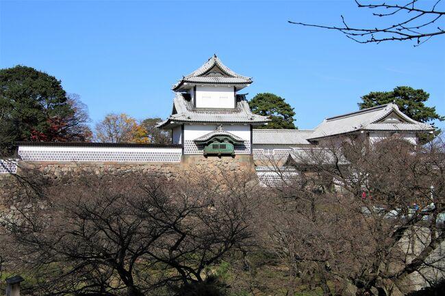 11年ぶり3回目の金沢城登城