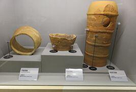 2020秋、しだみ古墳群ミュージアム(4/4):10月31日(4):埴輪製造過程、必要な道具類、埴輪の記号、窯焼成と野焼き
