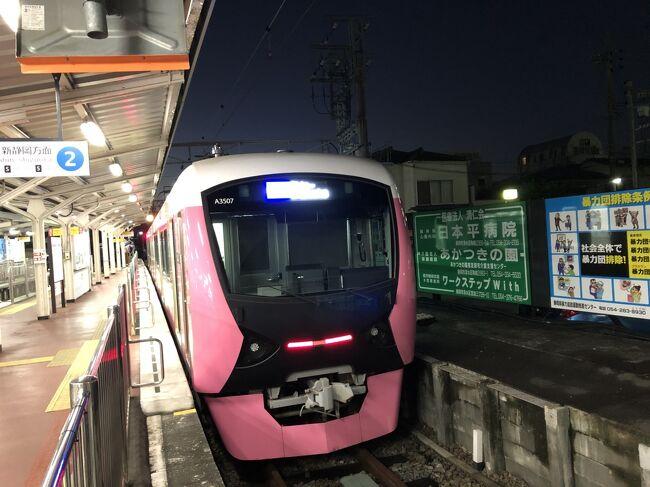 2020年12月東海鉄道旅行5(静岡鉄道)