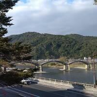 48年ぶり広島と岩国、登ってみたかった錦帯橋。