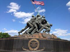 バージニア州 アーリントン ー 硫黄島メモリアル(合衆国海兵隊記念碑)