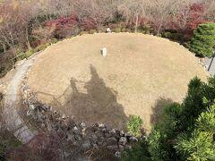 桓武天皇が京都盆地を一望した将軍塚へ上る