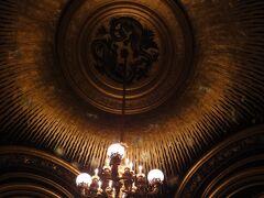 初めてのパリ その9(韓国・ロシア・ドイツ・イギリス・フランス 14日間の旅 その7-19) オペラ座②、続いてGrand Foyerへ!