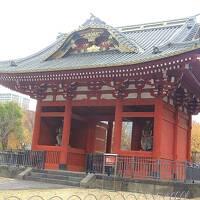 芝の増上寺(徳川将軍家墓所と霊廟模型展示など)と周辺