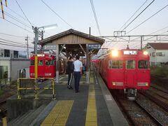 久しぶりの用事のついで・名古屋の周辺へ【その4】 名鉄西尾線と、三河線三河知立駅