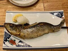 仙台グルメ旅 前半 行きつけのお店で焼き魚とセリ鍋
