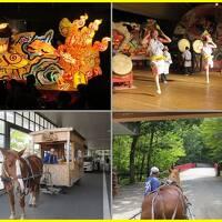 2014星野リゾート青森屋へ(4終)みちのく祭りやでねぶたを見ながら郷土料理、りんご馬車
