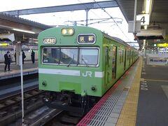 京都から三重へ。近畿の東側の方に行ってきた【その1】 奈良線103系電車をガッツリ堪能する