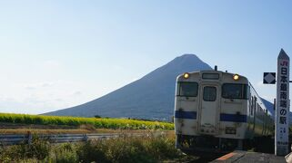 親子3人鹿児島旅行2(白くま・砂蒸し温泉・西大山駅・長崎鼻・白水館)