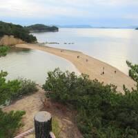 小豆島探訪:後編  エンジェルロード・西光寺三重塔・土渕海峡を巡り、日本料理「島活」で本場の小豆島そうめんを食べる