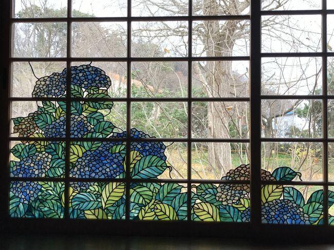 青森県北津軽郡中泊町にある旧家 宮越家。<br />その離れにとても美しいステンドグラスがあります。<br />この秋、初めて期間限定で一般に特別公開された、小川三知のステンドグラスに会いたくて青森へ行ってきました。<br />青森と弘前3日間の旅の記録です。