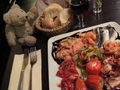 初めてのパリ その17(韓国・ロシア・ドイツ・イギリス・フランス 14日間の旅 その7-27) パリ2日目の夜の豪華ディナー!