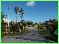 夏バカンス沖縄2014(3)JALプライベートリゾートオクマの朝&古宇利島を通って読谷村へ
