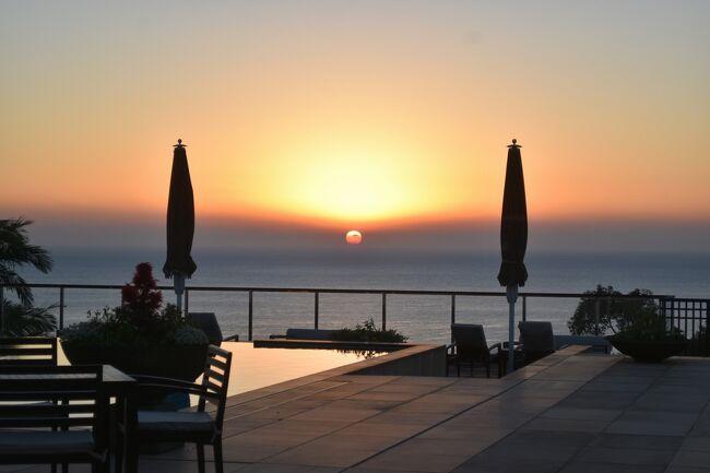 黒潮を巡る旅。高知、和歌山、続いては屋久島へ。シーズンオフの静かな屋久島で、ホテルステイを楽しみました。お天気が良かったのでちょっぴりトレッキング(もどき)も。<br /><br />その1は、Sankara Hotel &amp; Spaでの体験の数々。おいしい食事と素晴らしい景色、そしてホスピタリティあふれるサービスを堪能しました。Spaの施術もよかったです。<br /><br />・羽田から鹿児島空港経由で屋久島へ<br />・Sankara Hotel &amp; Spa<br />  ・ラウンジでチェックイン&ついでに昼食も<br />  ・広々とした部屋<br />  ・初日と3日目の夕食はカジュアルレストランAyanaで<br />  ・たくさんのパンから選べる朝食<br />  ・2日めの夕食は、本格フレンチのOkasで<br />  ・Sankara SanaでSpa<br />  ・敷地裏山のトレッキング<br />・屋久島空港から伊丹経由で羽田へ<br />  <br /><br />表紙写真は、プールの向こう、海から上る朝日。