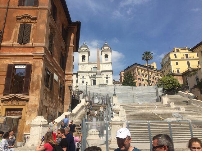 フィレンツェからローマへの移動です。