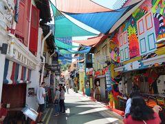 新婚旅行 春節のシンガポール4 マーライオン&ブギス&チャイナタウン