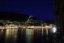 シニア夫婦2回目の北欧、バルト7カ国ゆっくり旅行25日 (4)オスロからベルゲンに移動しフロイエン山に上がりました(9月23日)