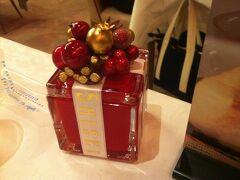 資生堂パーラーでクリスマス気分を味わう