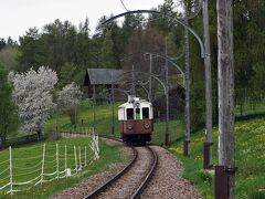 南ドイツ・北イタリア鉄道の旅(その6 ボルツァーノ レノン鉄道の木造電車に乗車)